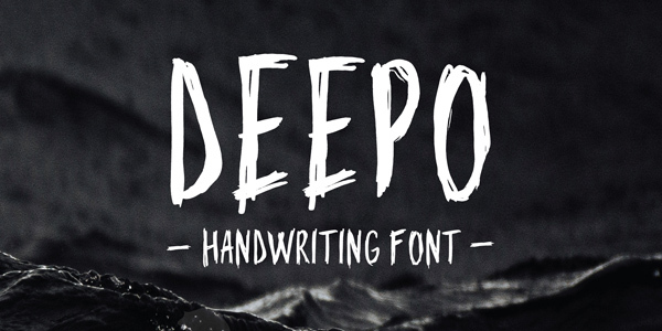 deepo-handwriting-font