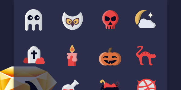 halloween-icons-using-sketch