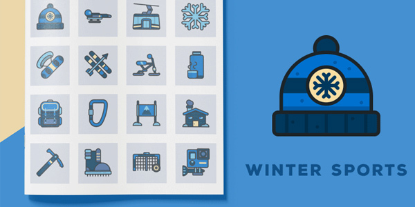 freebie-winter-sports-icons