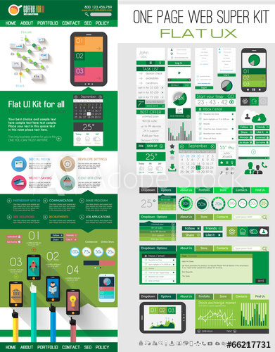 /one-page-website-flat-ui-design-template