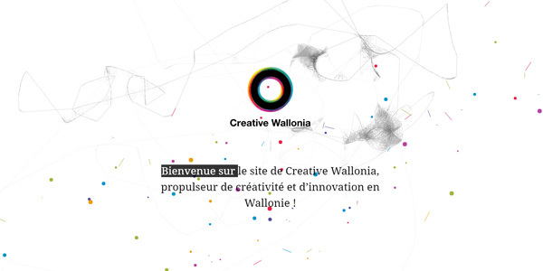 creative wallonia