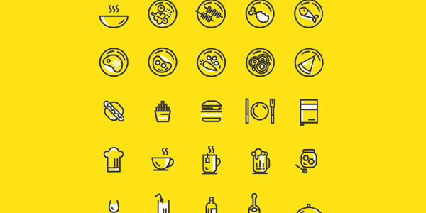 line-food-icons-vector-ai-eps
