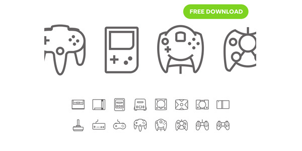 Game-Consoles-Free-icon-pack