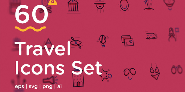 travel-icons-set