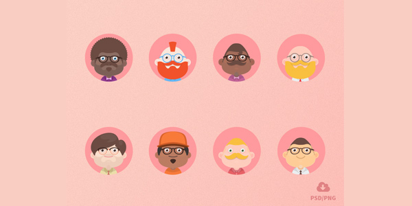 Free-Material-design-avatars
