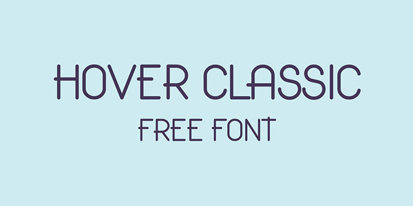 Hover-Classic-Free-Font