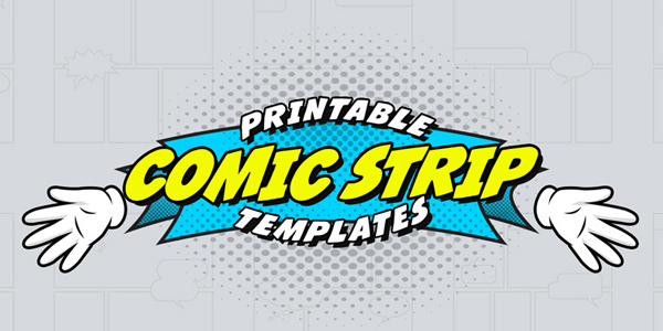 Free-Printable-Comic-Strip-Templates