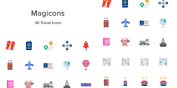 magicons-30-travel-icons