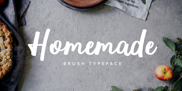 homemade-brush-typeface
