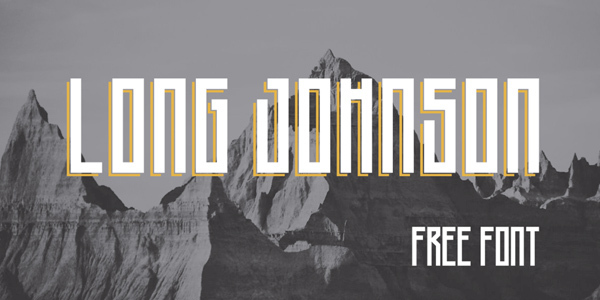 Long-Johnson-Free-Font