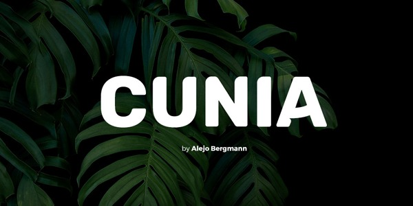 Cunia-Free-Font-Typeface
