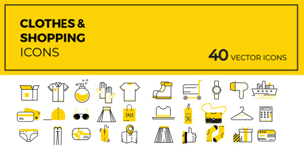 40-cloths-shopping-icons