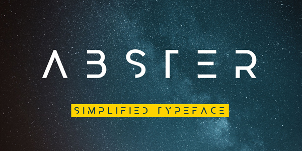 abster-free-font