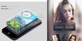 Inspiration Mobile #12 : Interfaces & éléments