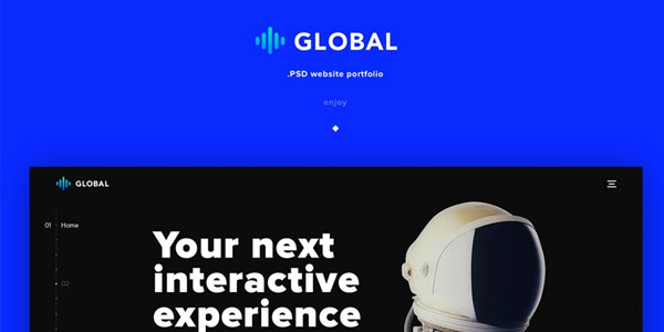 global-un-superbe-template-de-portfolio-en-html-et-css