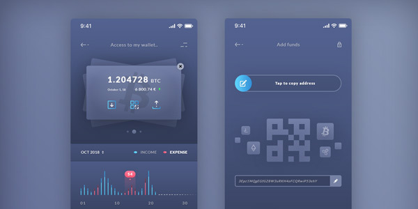 Finance-Wallet-Add-Funds-IOS-App-Freebies