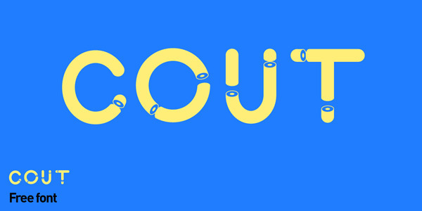 Cout-Free-Font