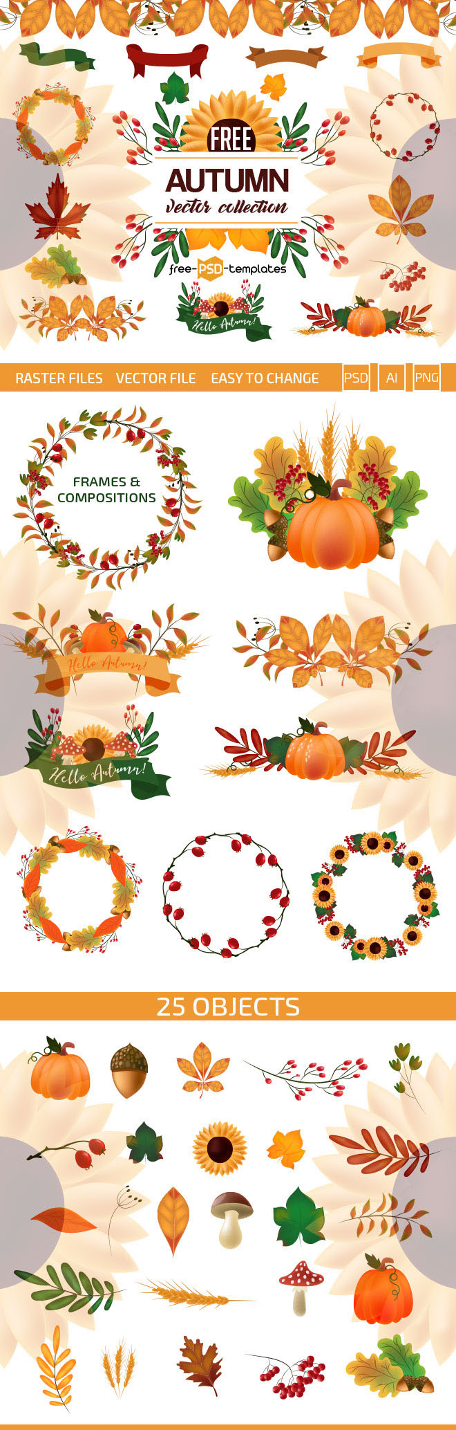 free-autumn-vector-collection