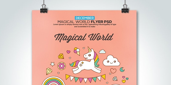 Free-Megical-Psd-Flyer-Templates