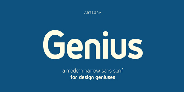 Genius-Font-Family-2-Free-Fonts