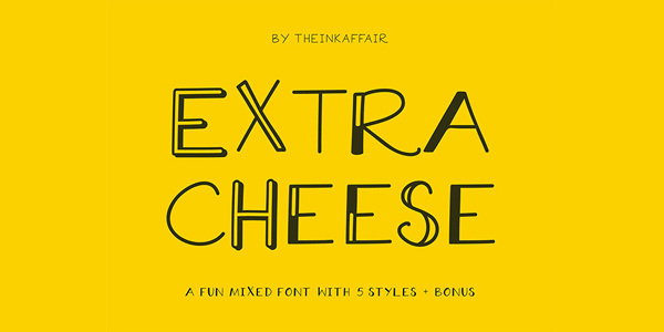 extra-cheese-font-collection