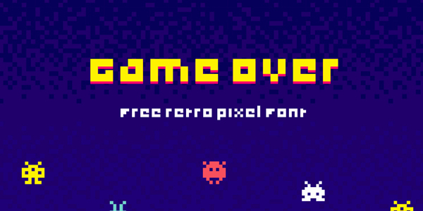 Game-Over-Free-Font