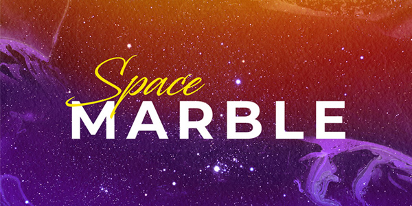 space-marble-backgrounds-set