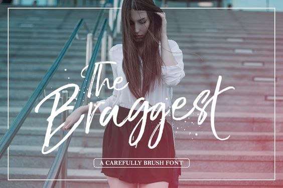The Braggest (Free Font) par Ryan Prasetya - 24