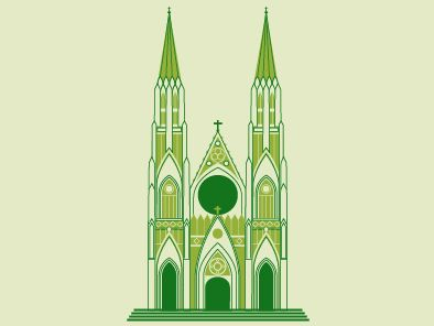 St. Patrick's Cathedral Icon par Marshall Meier