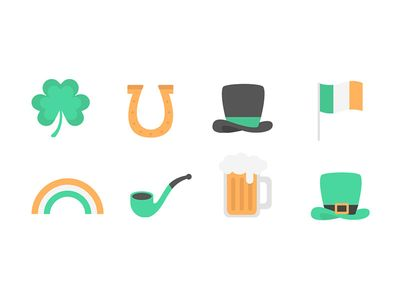 St. Patrick's Day Icons par Desiree Grace Tan