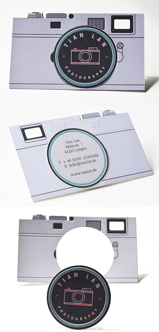 Versatile Camera Business Card