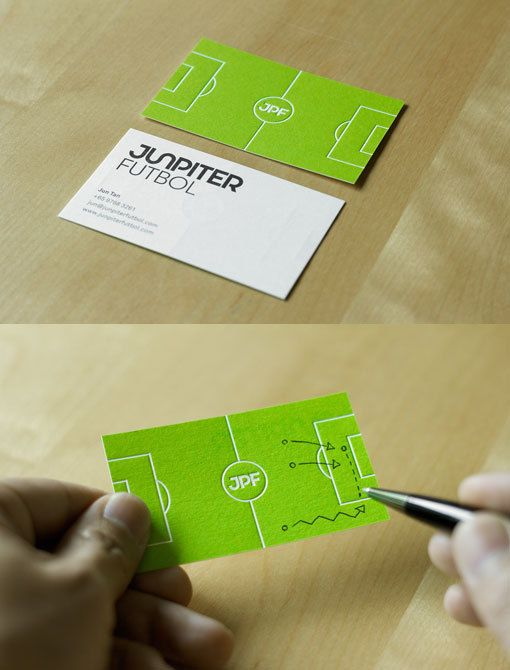 Carte Visite - Junpiter Football