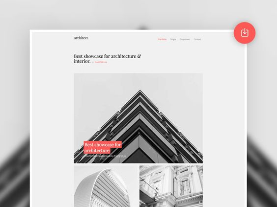 Architect Free Bootstrap Template par Joefrey Mahusay: