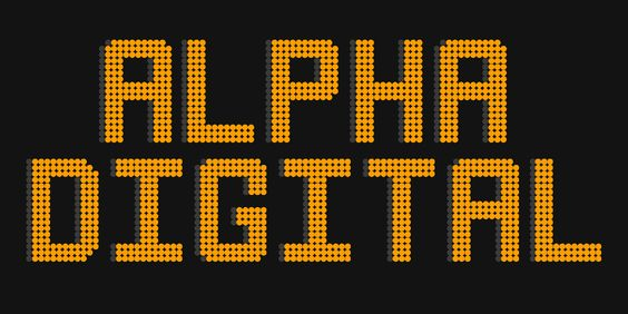 Free Alpha Digital Typeface par Rob Sharpe - 20