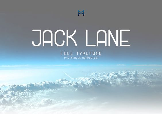 Jack Lane Display - Free Typeface par Mack Trinh