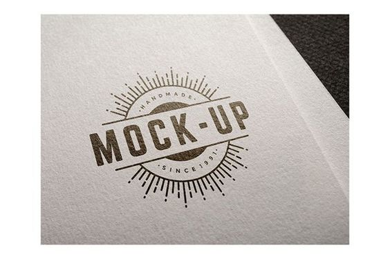 Free Logo Badge Mockup Psd Download