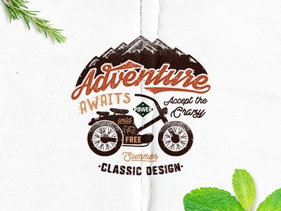 Free Download Adventure Label par JeksonGraphics