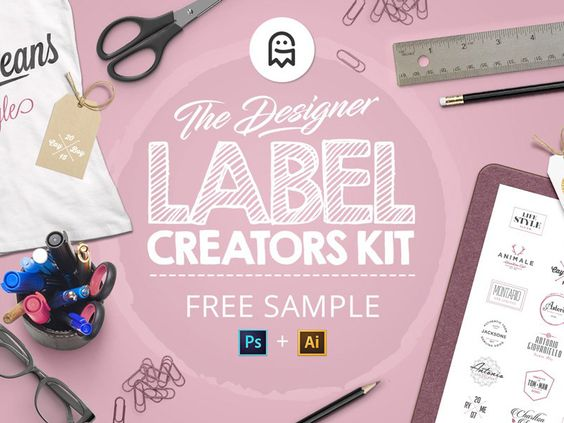 The Designer Label Creators Kit - Free Sample par Graphic Ghost