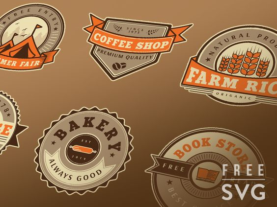 Free Vintage Badge Set Vector par Junoteam