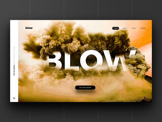 BLOW | Free PSD Website par Rajesh Kumar - 27