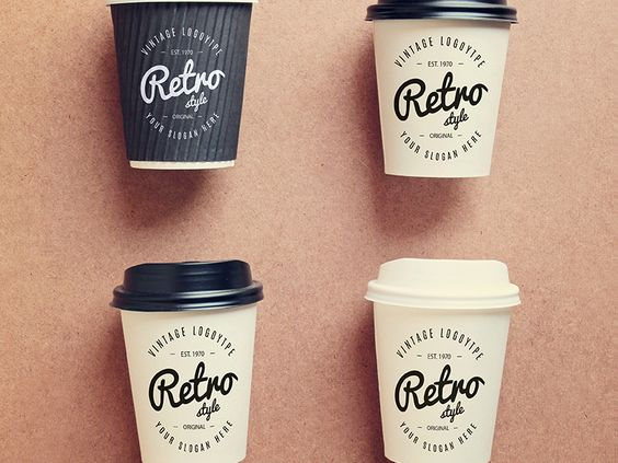 Coffee cups collection mock up Free Psd par Anusree Nandi - 010