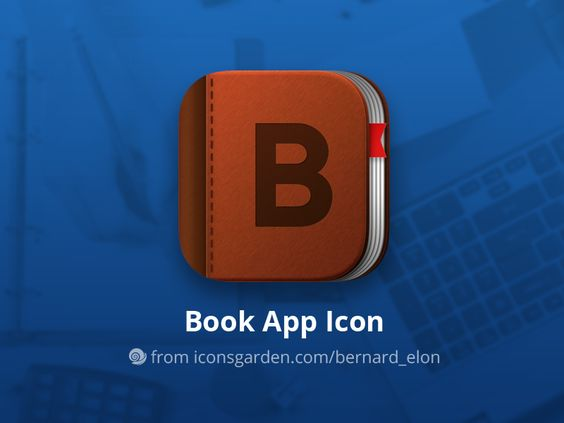 Free PSD Book app icon par iconsgarden - 06