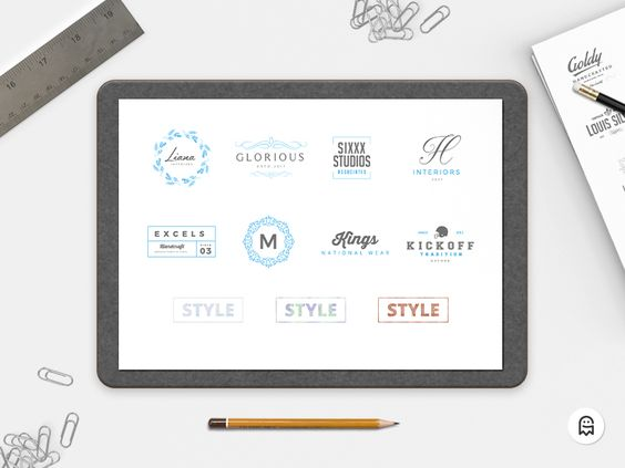 8 Free Logo Templates & 3 Photoshop Styles - 28/06