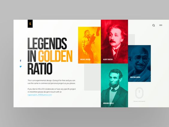 Legends in Golden Ratio | Free PSD par Rajesh Kumar - 01/08