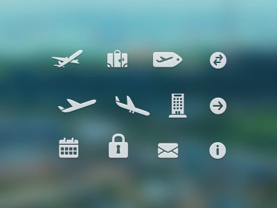 Free Travel Icons par Konrad Group