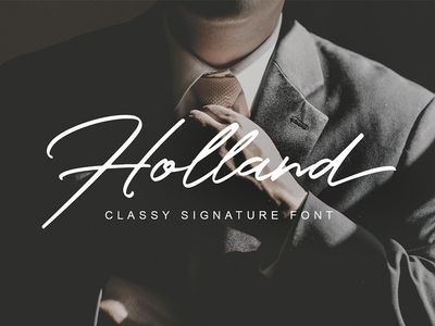 Holland Font - FREE - 02/10