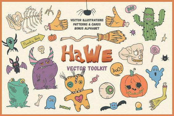 HaWe: Halloween Vector Toolkit