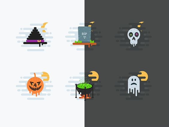 Halloween Free Icons par Alex Martinov