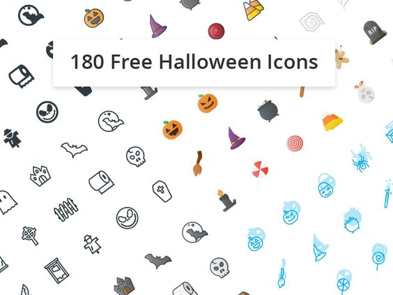 Trick or Treat! 180 Free Halloween Iocns par Pöcike