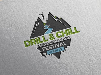 Logo Design for 3rd Drill & Chill Festival par Nevena Katalina